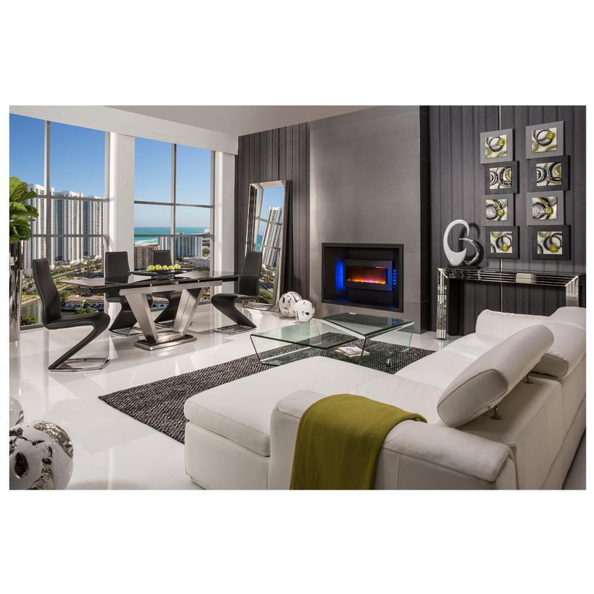 Dex Mirrored Console Table El Dorado, El Dorado Furniture Miami