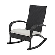 Neilina Black Rocking Chair  main image, 1 of 5 images.
