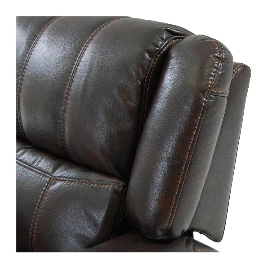 Paterson Power Motion Sofa w/Console  alternate image, 5 of 6 images.