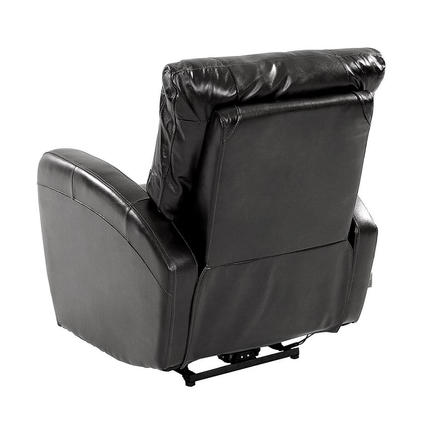Keegan Black Power Motion Leather Recliner  alternate image, 5 of 8 images.