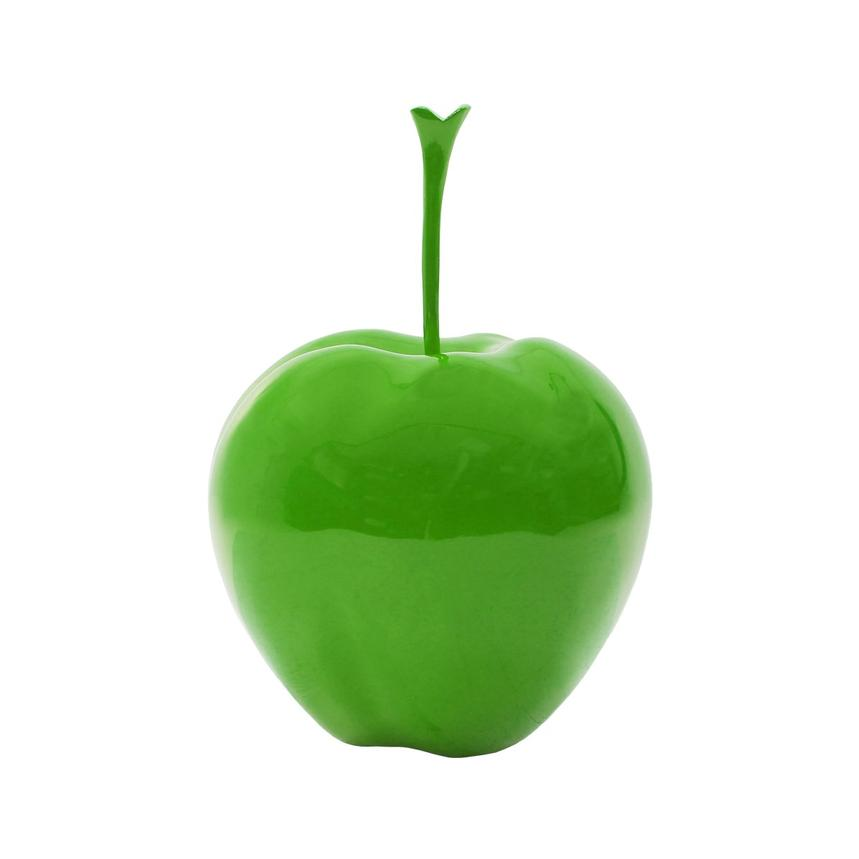 Small Green Apple Table Decor  main image, 1 of 3 images.