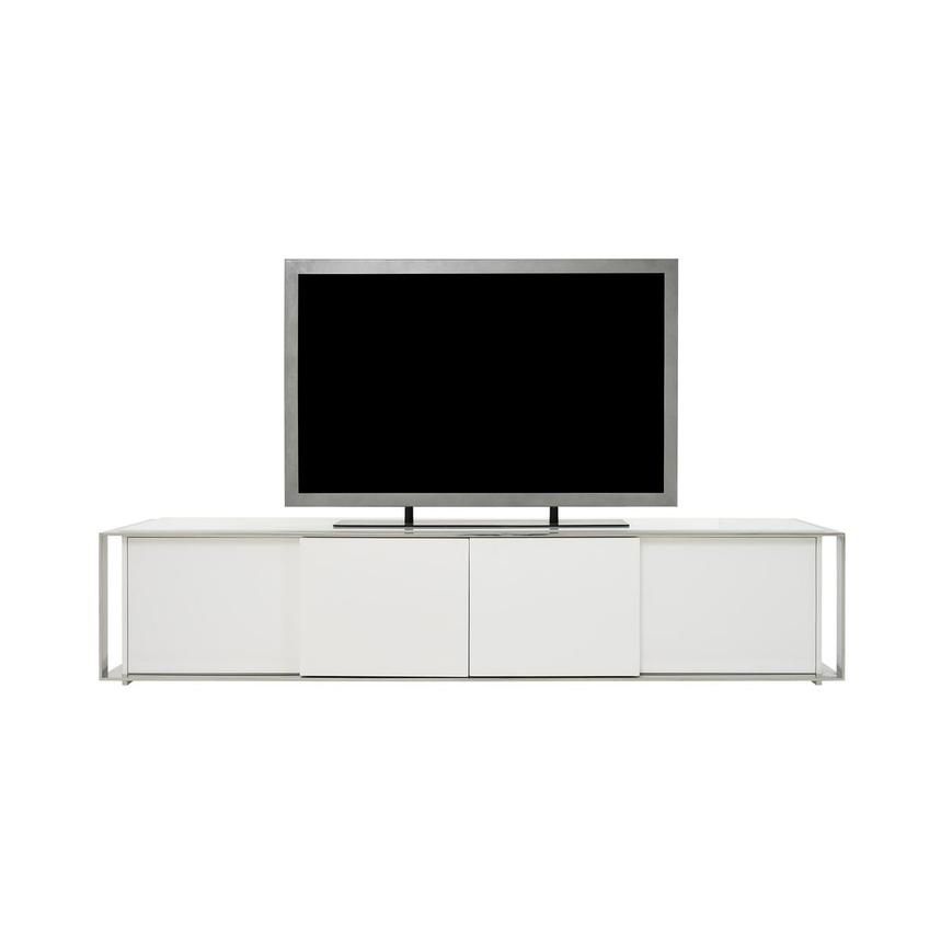 Cecilia White TV Stand  main image, 1 of 8 images.