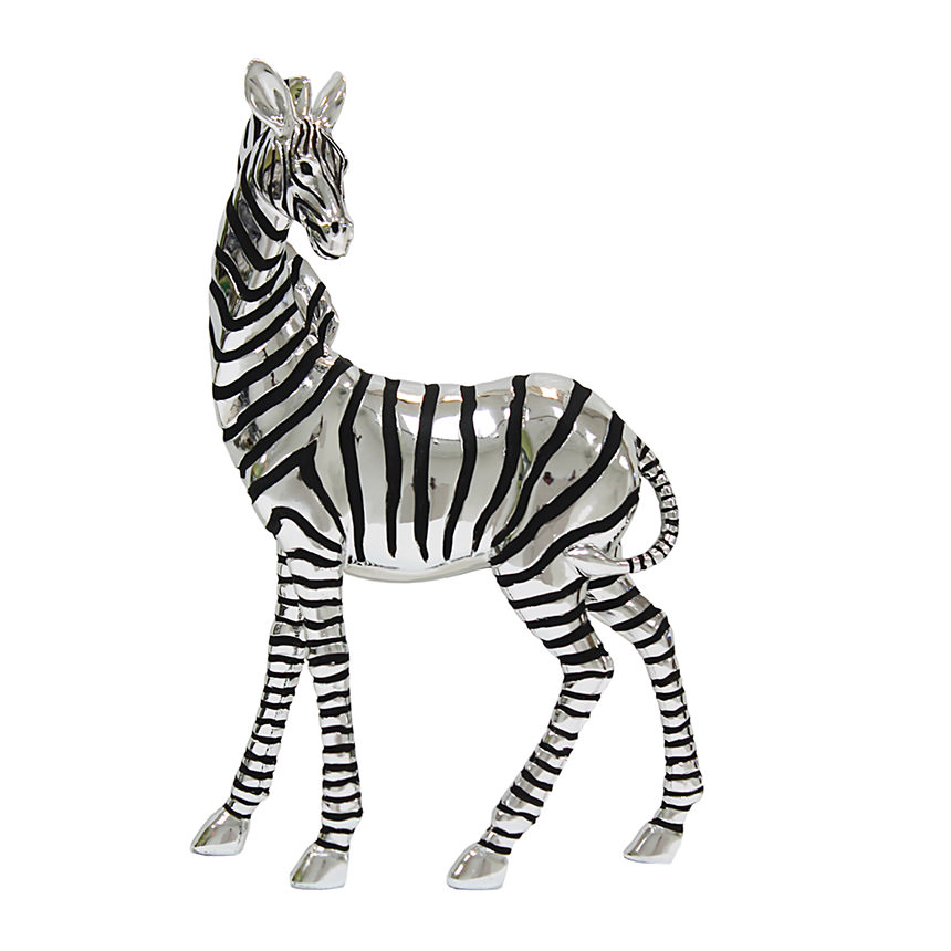 Zebra Sculpture  main image, 1 of 3 images.
