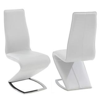Jessy White Side Chair