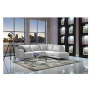 Cantrall White Corner Sofa w/Right Chaise  alternate image, 3 of 9 images.