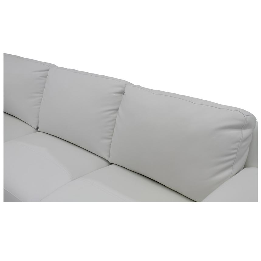 Cantrall White Sofa w/Left Chaise  alternate image, 5 of 6 images.