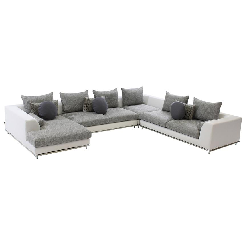Hanna Sofa W Left Chaise El Dorado Furniture