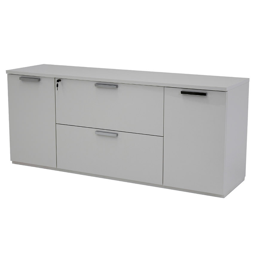 Sedona White Credenza Made in Italy  main image, 1 of 6 images.