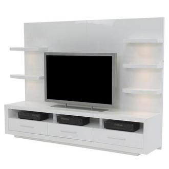 Contour I White Wall Unit
