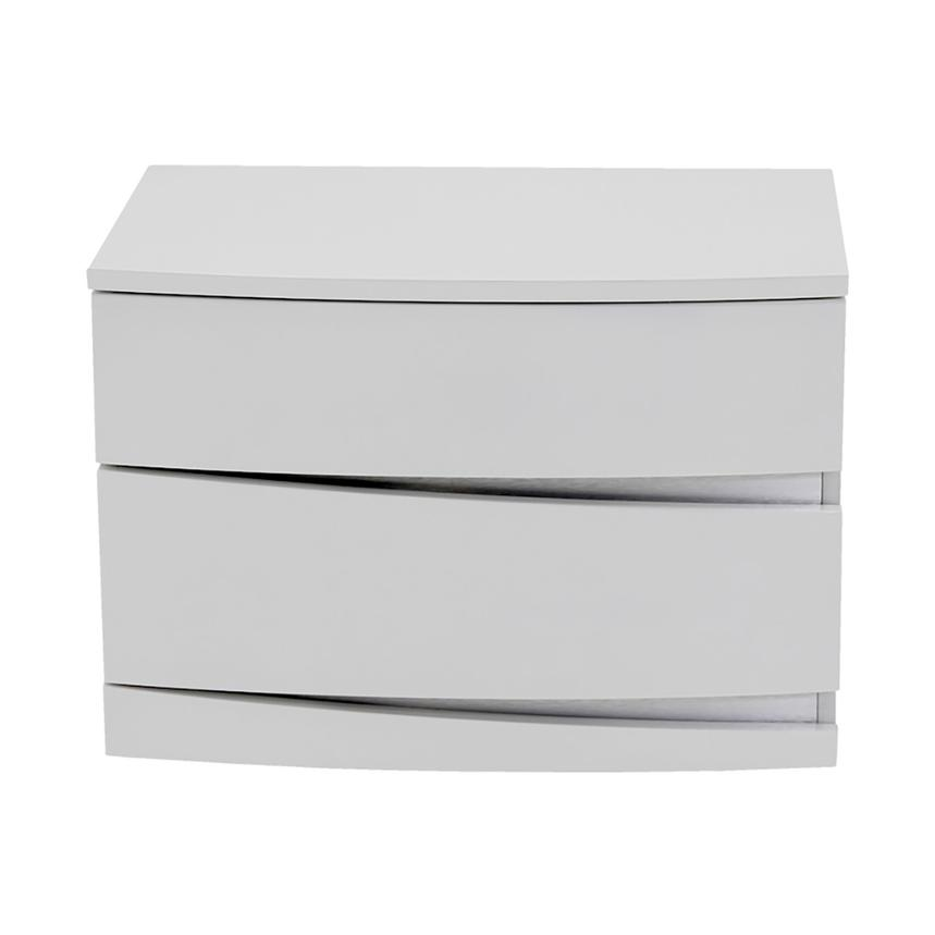 Brighton White Nightstand  main image, 1 of 6 images.