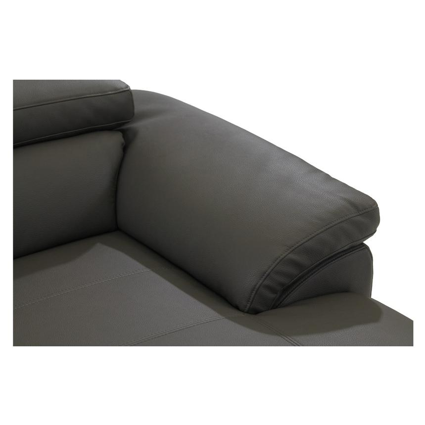 Costa Gray Corner Sofa w/Right Chaise  alternate image, 7 of 9 images.