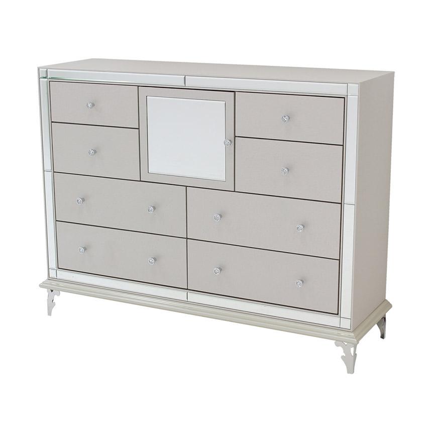 Hollywood Loft Frost Dresser El Dorado Furniture