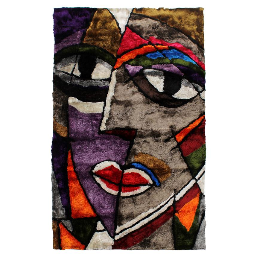 Picasso 5' x 8' Area Rug  main image, 1 of 3 images.