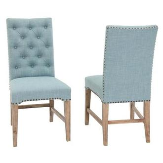 Beltran Blue II Side Chair