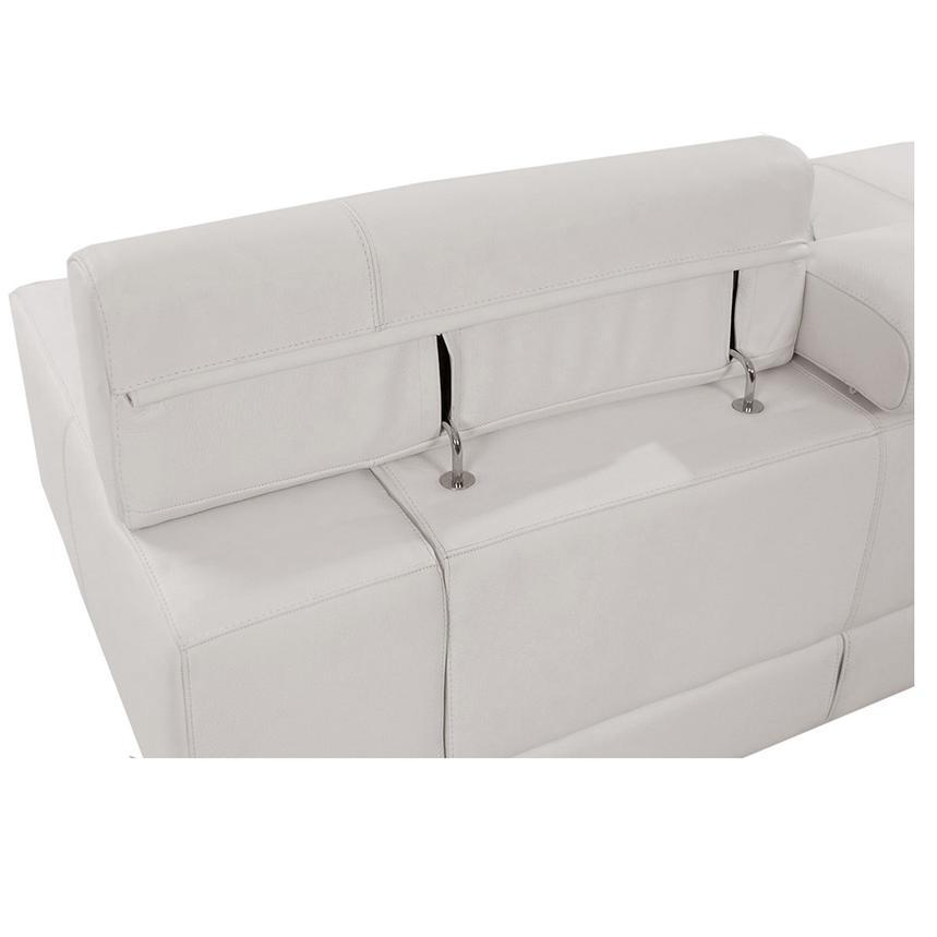 Marvelous Grace White Oversized Leather Sofa Inzonedesignstudio Interior Chair Design Inzonedesignstudiocom