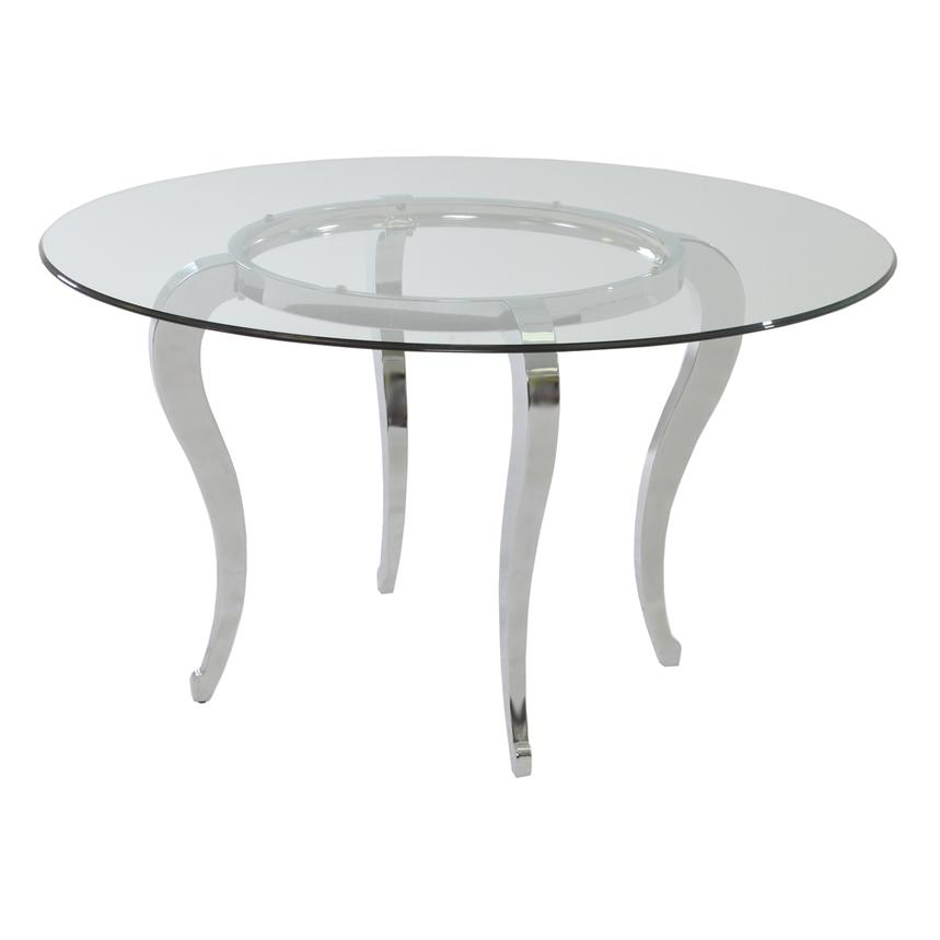 Letticia Round Dining Table  main image, 1 of 3 images.