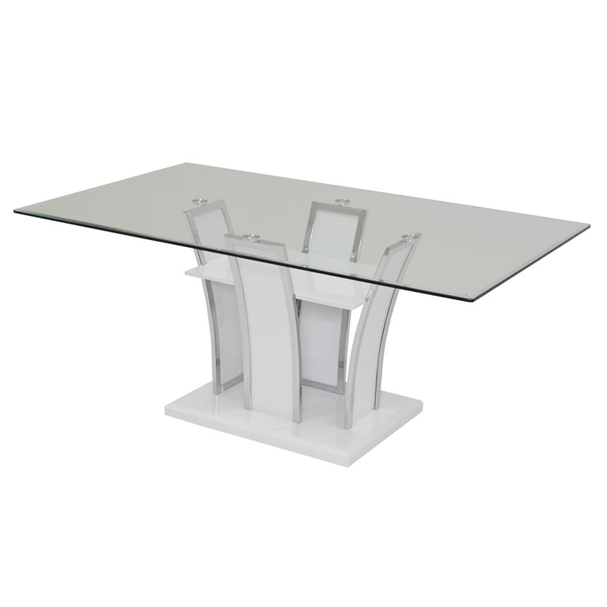 Dash Rectangular Dining Table  main image, 1 of 3 images.