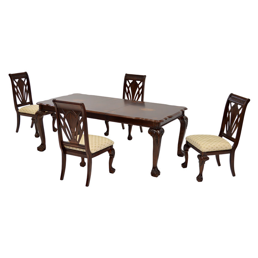 Eloisee 5-Piece Formal Dining Set  main image, 1 of 11 images.