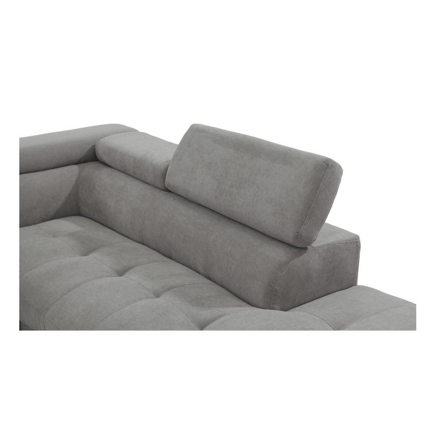 Taheri Gray Corner Sofa w/Right Chaise  alternate image, 4 of 8 images.