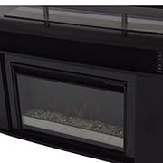 Enterprise Black Electric Fireplace w/Speakers  alternate image, 4 of 6 images.