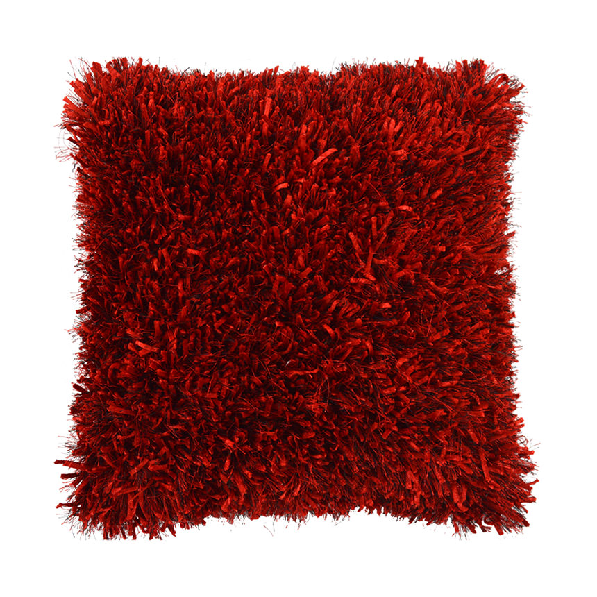 Sheen Red Accent Pillow  main image, 1 of 2 images.