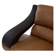 Jedda Camel Leather Chair  alternate image, 5 of 6 images.