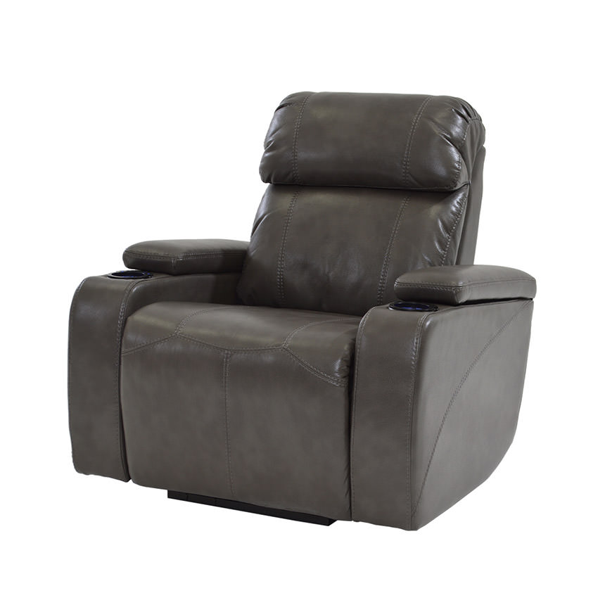 Magnetron Gray Power Motion Recliner  main image, 1 of 7 images.