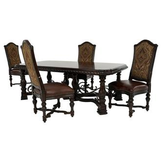 Opulent 5-Piece Dining Set