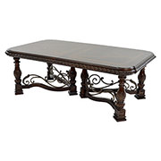 Opulent Extendable Dining Table  main image, 1 of 9 images.
