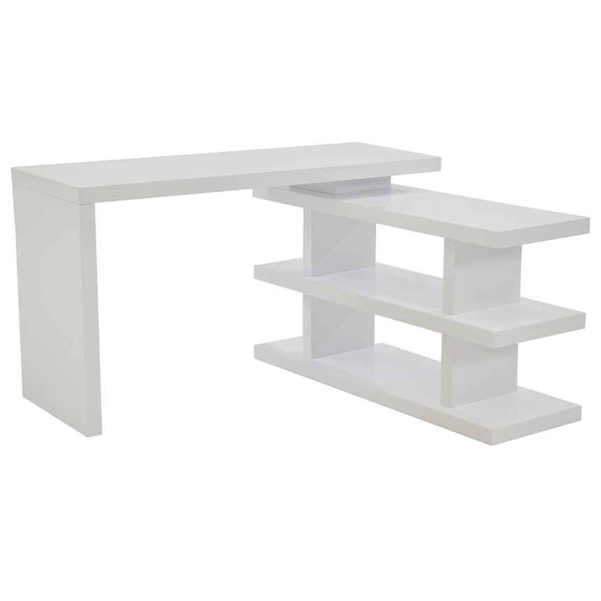 Jax White Console Table  main image, 1 of 5 images.