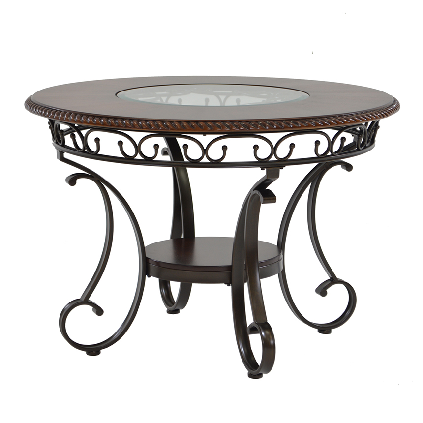 Glambrey Round Dining Table  main image, 1 of 4 images.
