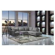 Cantrall Dark Gray Corner Sofa w/Right Chaise  alternate image, 2 of 9 images.