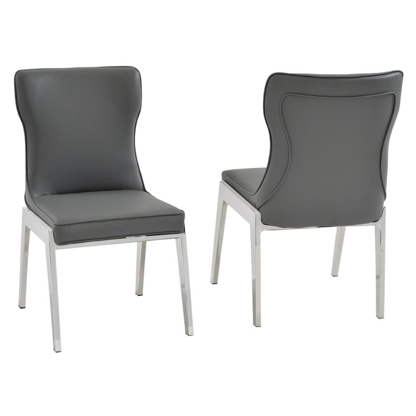 Onyx Gray Side Chair  main image, 1 of 4 images.