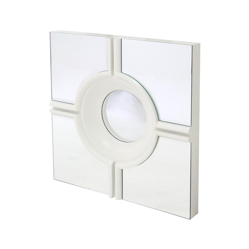 Target White Wall Mirror | El Dorado Furniture
