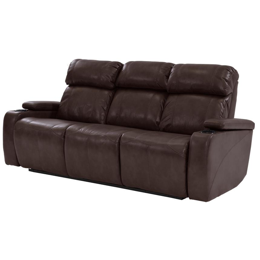Magnetron Brown Power Motion Sofa  main image, 1 of 8 images.