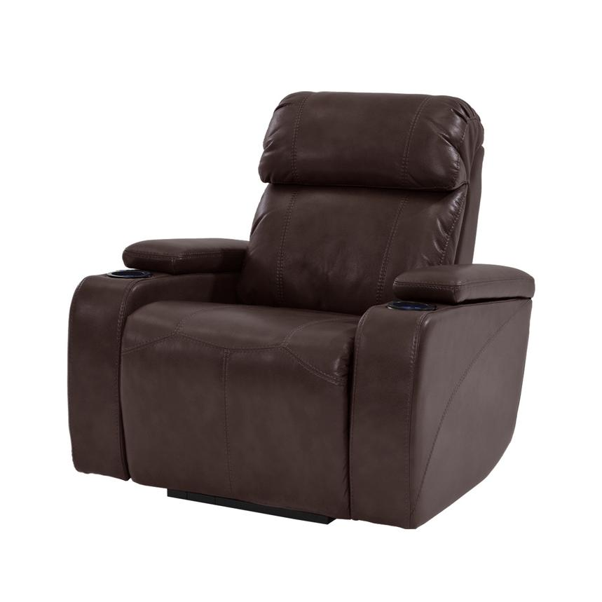 Magnetron Brown Power Motion Recliner  main image, 1 of 6 images.