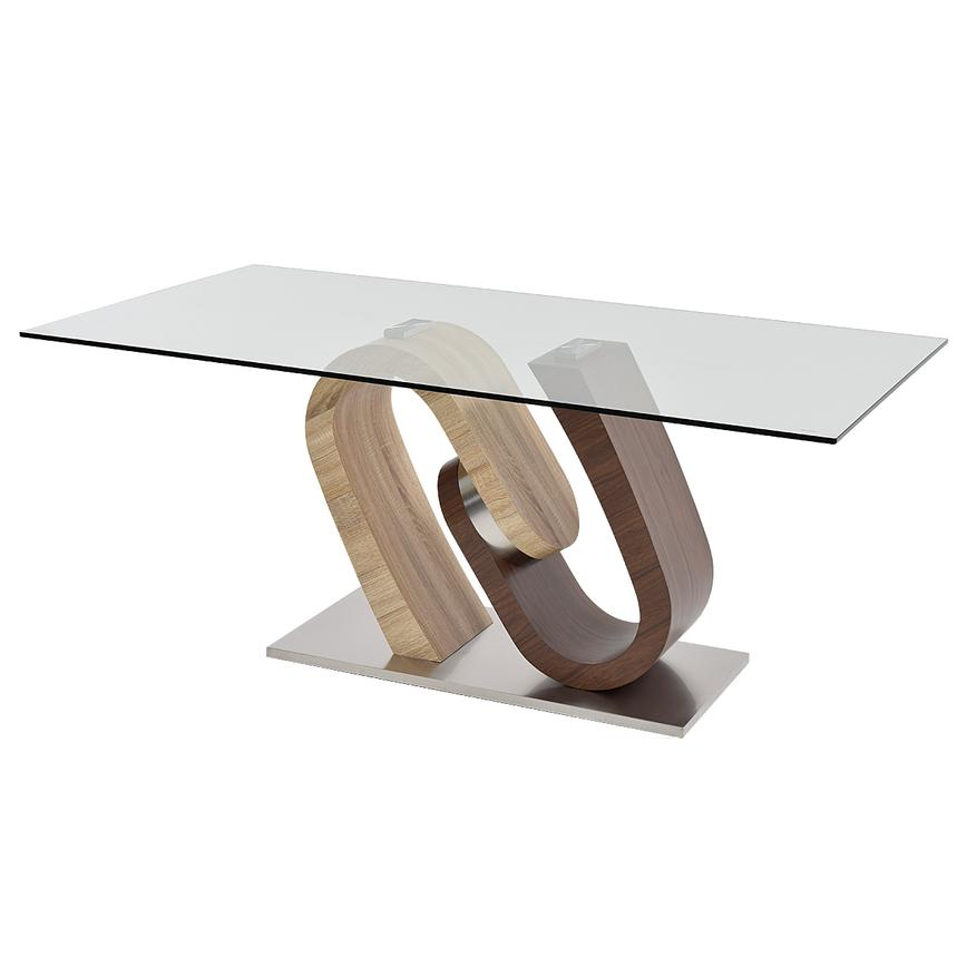 Serpentine Rectangular Dining Table  main image, 1 of 6 images.