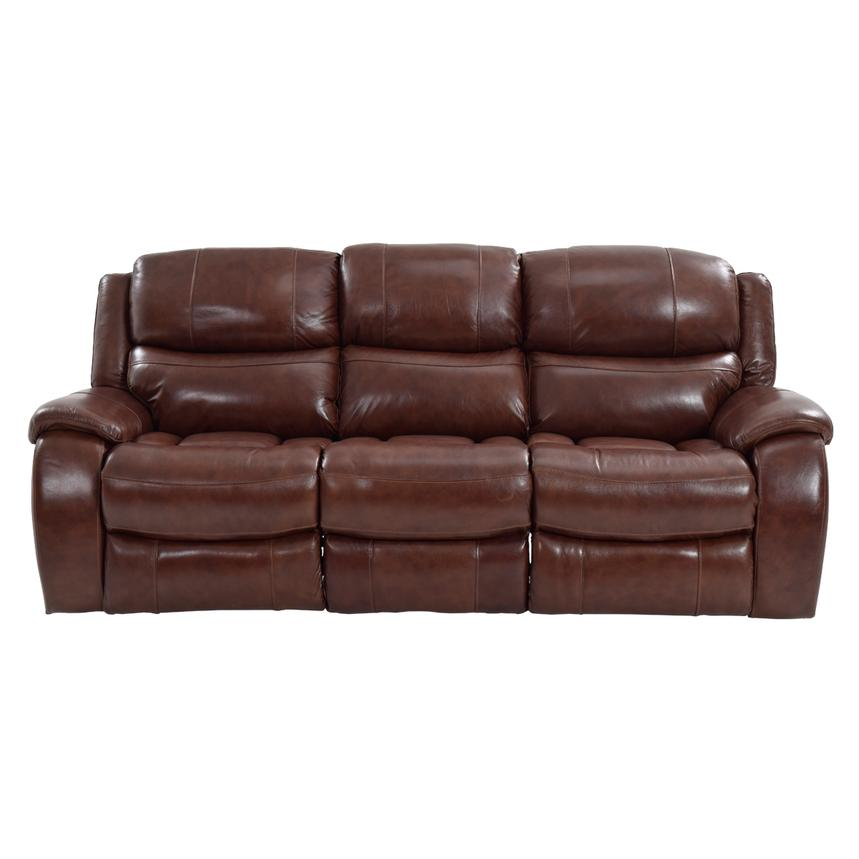 Abilene Leather Power Reclining Sofa  alternate image, 4 of 8 images.