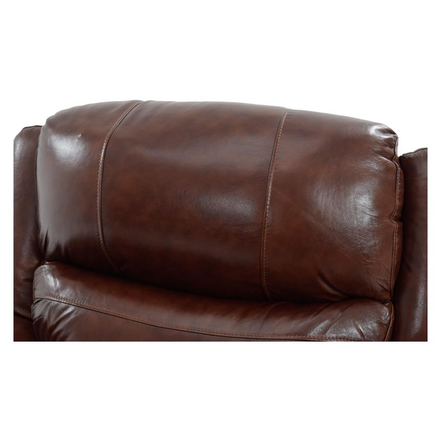 Abilene Leather Glider Recliner  alternate image, 6 of 9 images.