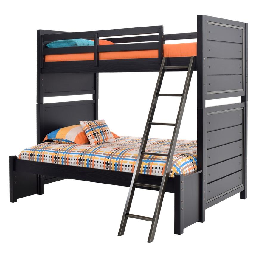 Graphite Twin Over Full Bunk Bed El Dorado Furniture