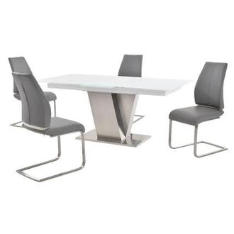 Maday Gray 5-Piece Formal Dining Set