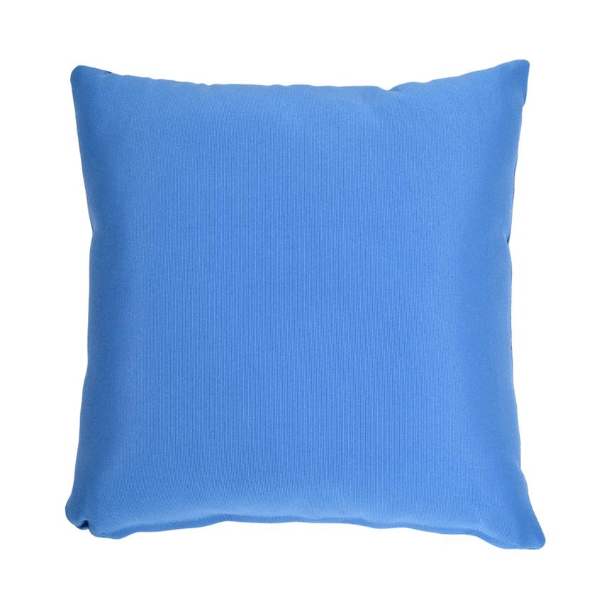 Blue Outdoor Pillow  main image, 1 of 2 images.