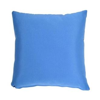 Blue Outdoor Pillow