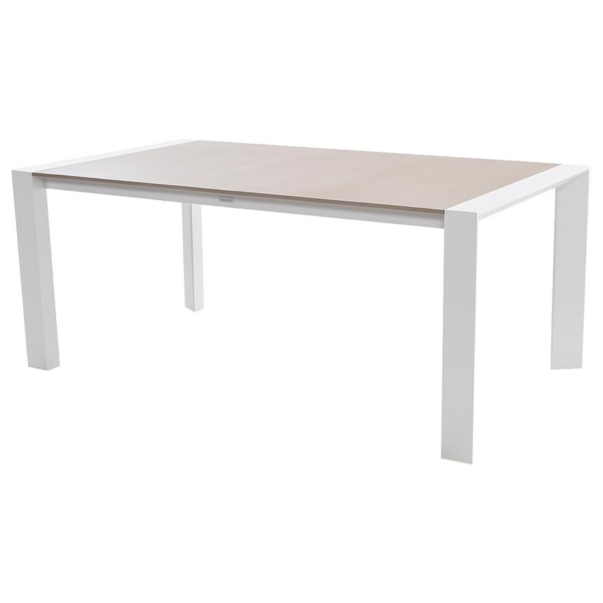 Mykonos Cream Rectangular Dining Table  main image, 1 of 3 images.