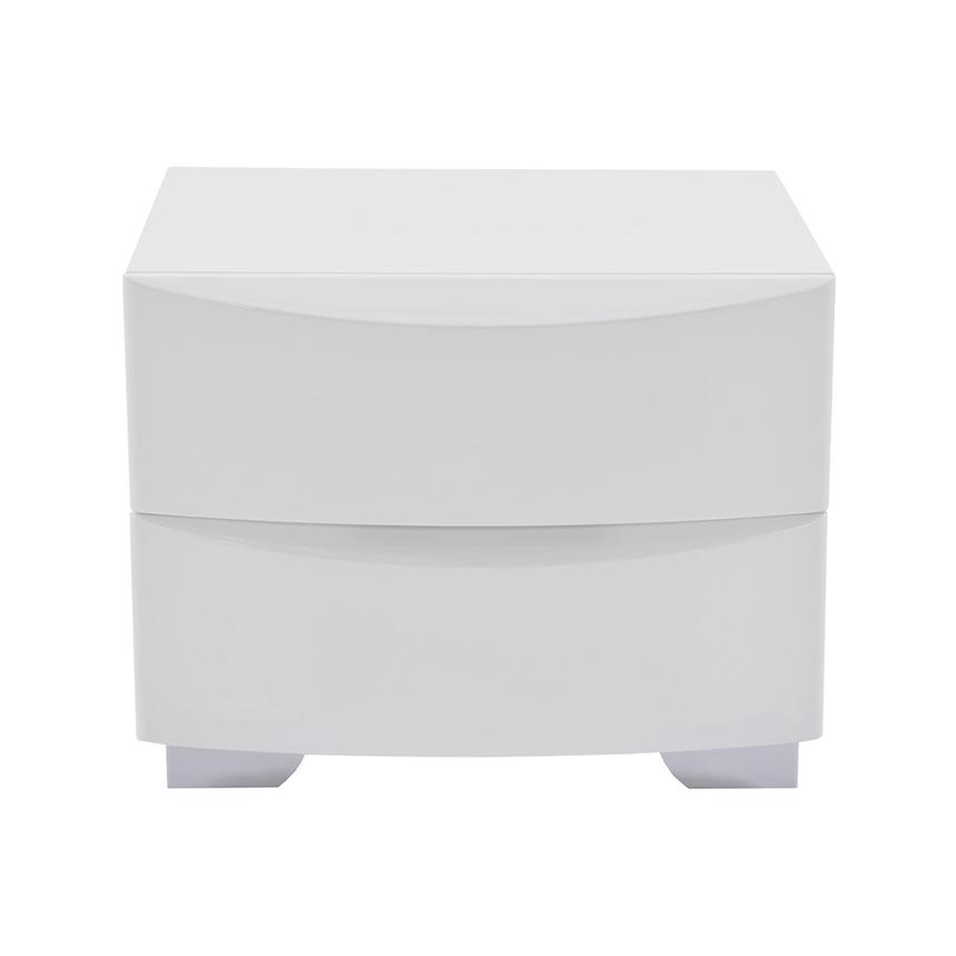 Jolie White Nightstand  main image, 1 of 6 images.