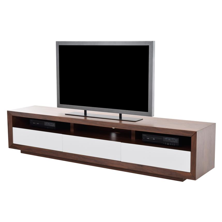Contour II Walnut TV Stand  main image, 1 of 4 images.