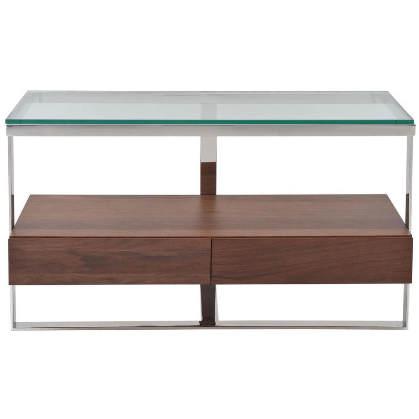 Calypso Walnut Console Table  main image, 1 of 4 images.
