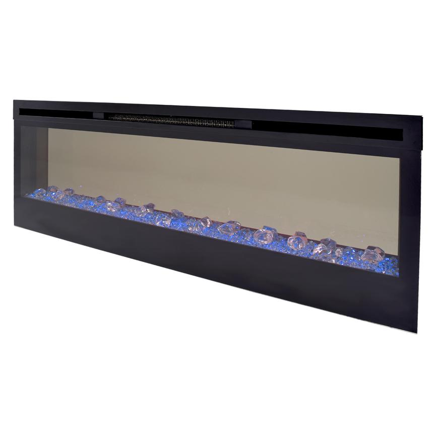Concord Wall-Hanging Electric Fireplace w/Remote Control  alternate image, 7 of 8 images.