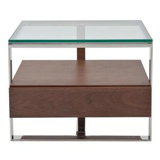 Calypso Walnut Side Table