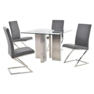 Soler/Jade Gray 5-Piece Casual Dining Set